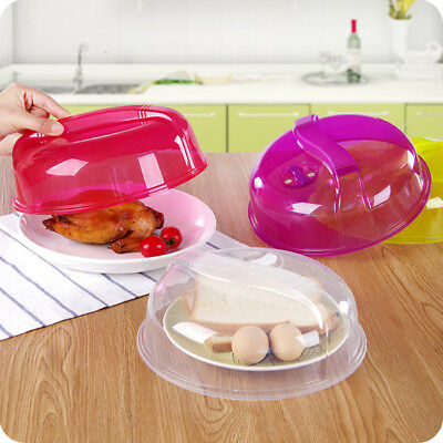 Microwave Plate Covers Steam Vent Lid Dish Food Splatter for Home Kitchen Tool A