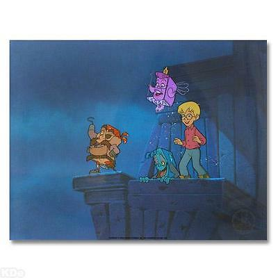 Hanna-Barbera  Hand-painted sericel    Page Master  Limited Edition