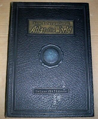 New International ATLAS of the WORLD / Deluxe 1942 War Edition