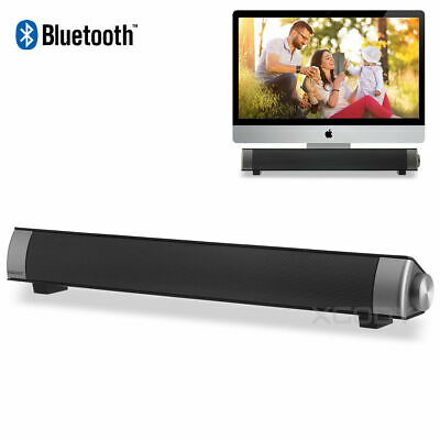 XGODY Wireless Computer Speaker Bluetooth for PC Laptop Desktop Stereo Soundbar