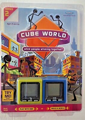 Radica Cube World ~ Series 2 ~ Dusty & Handy ~ 2006 ~ In OPENED Package