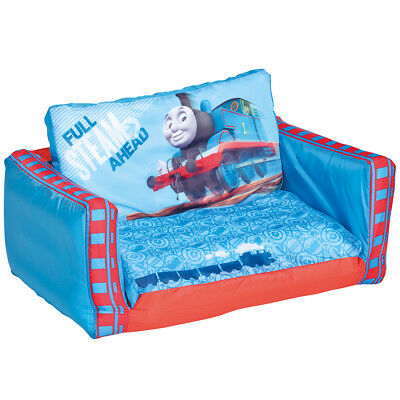 Thomas & Friends Kids Foldable Sofa Bedroom Flip Out Play Bed Blue WORL610010