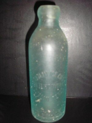 Vintage Texas Hutch Soda Bottle, Dublin Ice Co's Bottling Works, Dublin, Texas
