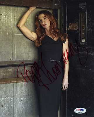 Poppy Montgomery Unforgettable  Signed Autographed 8x10 Photo PSA/DNA COA