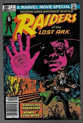 Raiders of the Lost Ark #1 (Oct, 1981) Movie Special Indiana Jones VG/FN 5.0