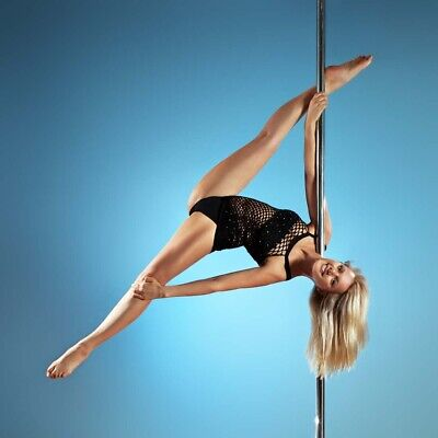 Profi Tanzstange 50mm Pole Dance Tabledance Strip Stange Static + Spinning UP