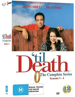 TIL DEATH Season 1 2 3 4 (Region 4) DVD The Complete Series 1-4 Collection