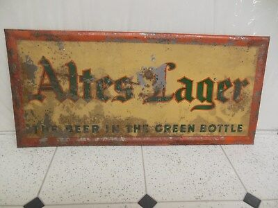TOC Altes Lager Stand Up Beer Sign