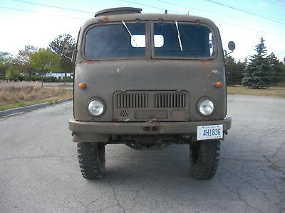1955 Tatra 805 Military Truck 4x4 COE Cabover