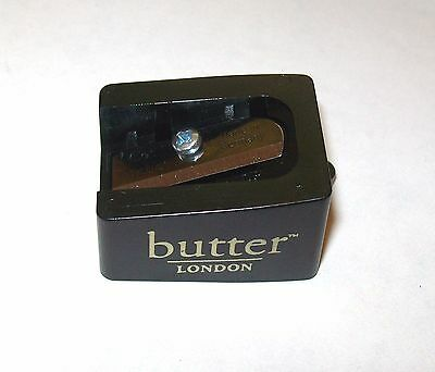 BUTTER LONDON Lip Pencil Crayon SHARPENER Black 12mm Made in Germany