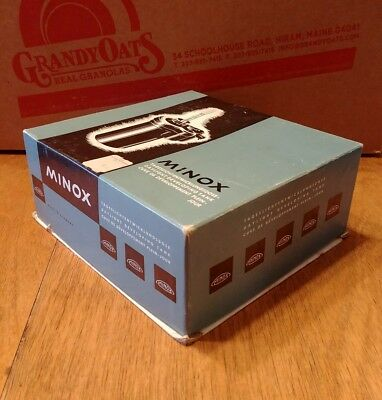 Minox Daylight Developing Tank Complete In Box Made in Germany