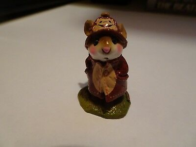 Wee Forest Folk April Showers special FTF brown with monkey on hat