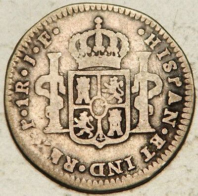 Colombia Spanish Colonial Silver 1 Real 1810