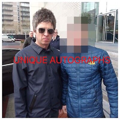 Noel Gallagher Personally Signed Photo, Oasis, Proof Shown 3