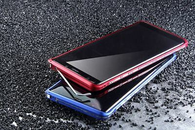 iMatch Metal Bumper CNC Aluminum Case Cover for Samsung Galaxy Note 8 S8 S9 Plus