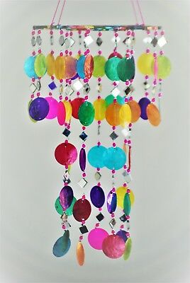 Balinese Capiz Shell Hanger Dream Catcher Wind Chime