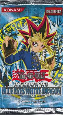 Yugioh Legend of Blue Eyes White Dragon English Booster Pack