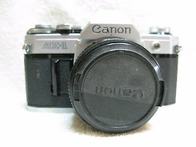 Canon  AE-1  Vintage    35mm  Film Camera. With 50mm FD Lens
