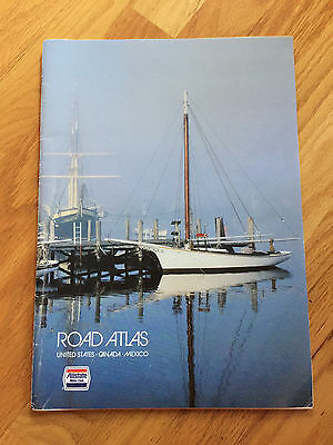 Allstate Motor Club Road Atlas United States Canada Mexico 1987