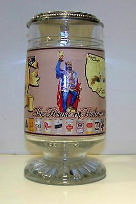 1982 House Of Heileman Stockholders Convention Lidded Stein - Rare