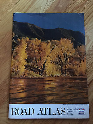 Allstate Motor Club Road Atlas United States Canada Mexico 1982