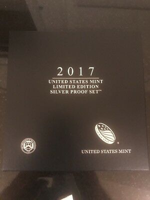 2017 United States Mint Limited Edition 8pc Silver Proof Set - Sold Out