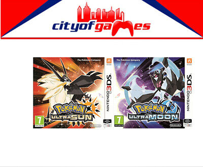Pokemon Ultra Moon & Ultra Sun Bundle 3DS  New & Sealed Free Express In Stock