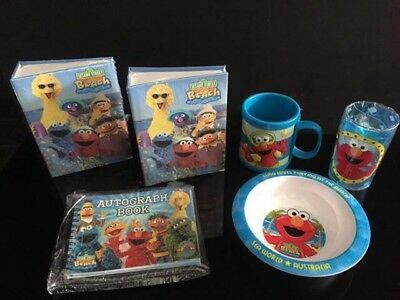 Sesame Street Beach Kids Set Brand New