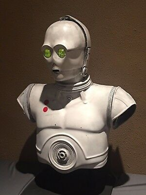 Star Wars prop 1:1 scale lifesized Protocol K3P0 Hoth - like C3P0 only white