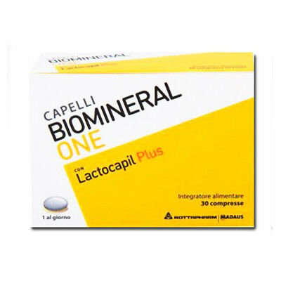 Biomineral One con Lactocapil Plus Integratore Capelli 30 Compresse