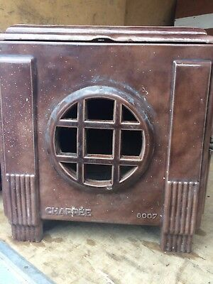 Art Deco Chappee Enamel French Stove Series 8007. Collect Weymouth Dorset