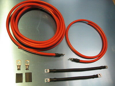 Battery Cable ,re Location, Power Cable, Escort Mk1, Mk2, Historic Rally, Drift