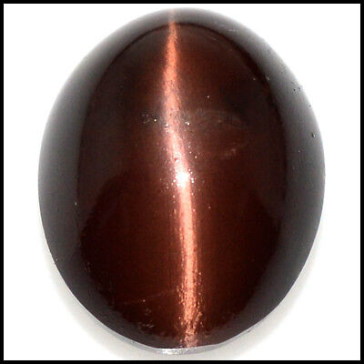 46.74Cts NATURAL BEAUTY SCAPOLITE CAT'S EYE OVAL CABOCHON LOOSE GEMSTONE 109-13