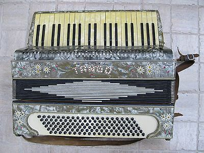 vintage Accordion TANGO Accordeon Harmonica Collectible Germany