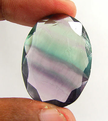 66.35 Ct Natural Beautiful Fluorite Oval Loose Gemstone Stone - H 3059