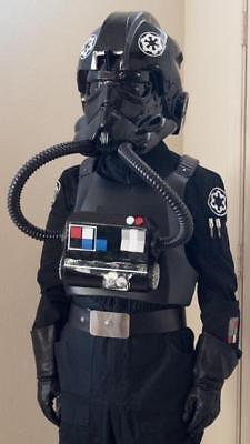 Star Wars prop Imperial Tie Fighter Pilot costume chestbox and hoses adult wear