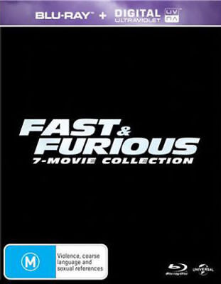 FAST & FURIOUS 1-7 1234567 7 MOVIES Ultraviolet (UV) Code ONLY NOT A DVD