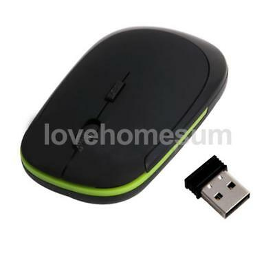 Wireless USB Maus PC Kabellose Mouse Computer Laptop Notebook Funkmaus 2.4G