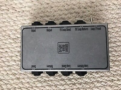Bright Onion Pedals 4 Gang Patch Box Switch Guitar Effects Board