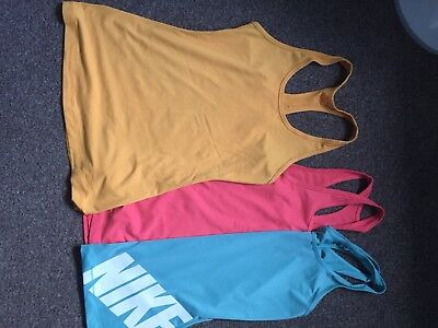 Women's size Small (8-10) Nike Fitness Vest Bundle
