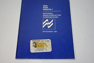 NATIONAL SEMICONDUCTOR New Databook Update 7 1982 EDITION