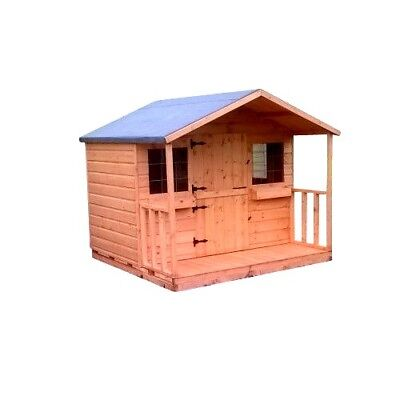Shedrite 6ft x 6ft playhouse inc porch great christmas gift idea