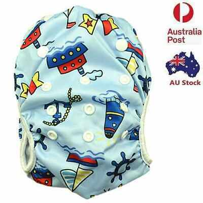 Brand New Reusable Swim Nappy Baby Cover Diaper Pants Nappies Swimmers (S138)