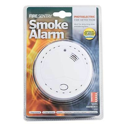 Fire Sentry PHOTOELECTRIC SMOKE ALARM WITH TEST BUTTON FSPDC +9V Battery