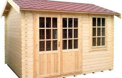 henley Interlocking Cabin 44mm  free delivery