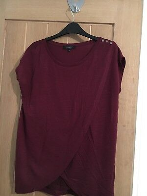 New Look Nursing Top size 12