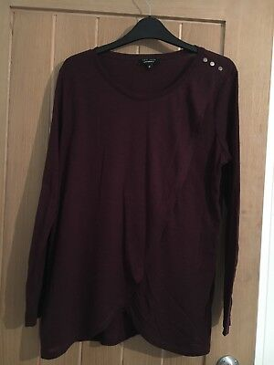 New Look long sleeved Nursing Top size 12