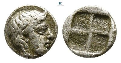 Savoca Coins Asia Minor Uncertain Mint Hemiobol 0,33 g / 6 mm @PLV10829