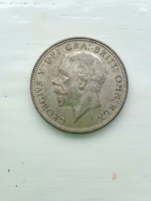 Dated : 1936 - Silver Coin - One Florin / Two Shillings - King George V