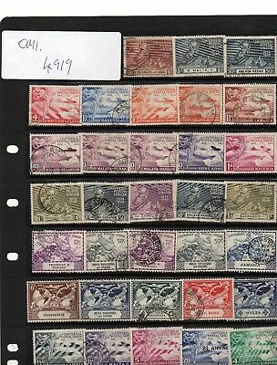 Lot Of Upu Br/com Used Stamps